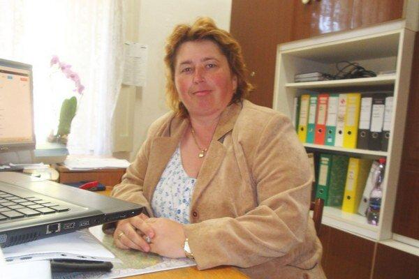 Riaditeľka Martina Martonová.
