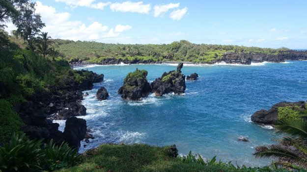 Park Waiʻanapanapa na ostrove Maui
