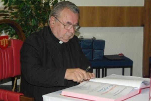 Jozefovi Cahelovi bolo udelené verejné uznanie.