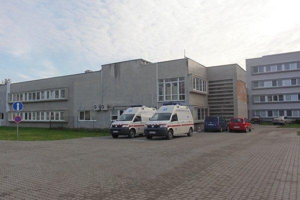 Topoľčianska nemocnica.