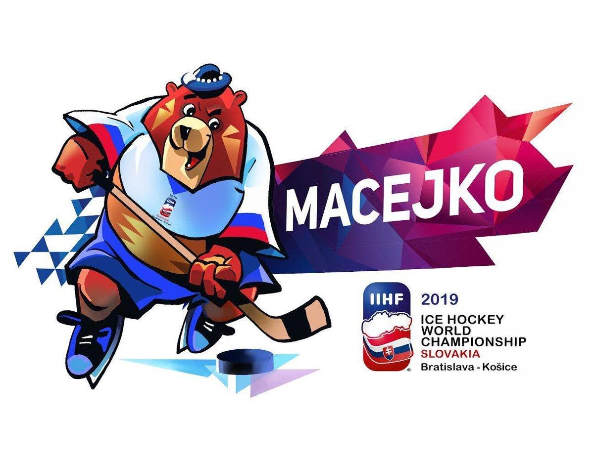 Výsledek obrázku pro logo ms v hokeji 2019