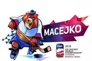 Podoba a meno maskota na MS v hokeji 2019.