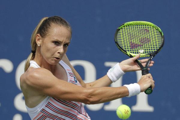 Magdaléna Rybáriková skončila na US Open v prvom kole.