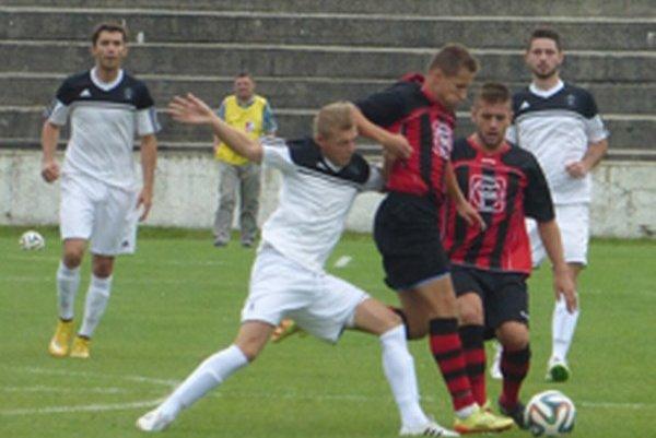 Futbalisti Topoľčian rozhodli v poslednej minúte zápasu.
