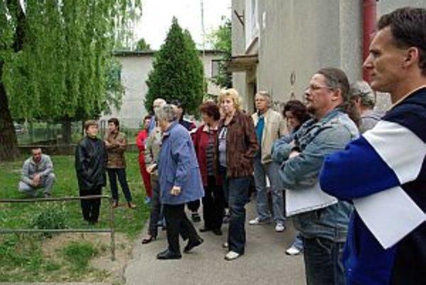 Stretnutie obyvateľov v Strojárenskej štvrti.
