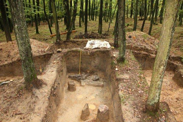 Archeologické nálezisko vBojnej.