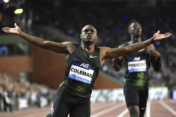 Americký šprintér Christian Coleman.