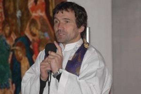 Rímsko-katolícky kňaz Marián Kuffa.