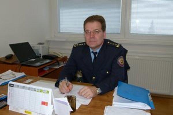 Topoľčiansky riaditeľ hasičov Ľubomír Gera.
