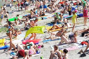 Cez slnečný víkend príde približne štyri tisíc ľudí.