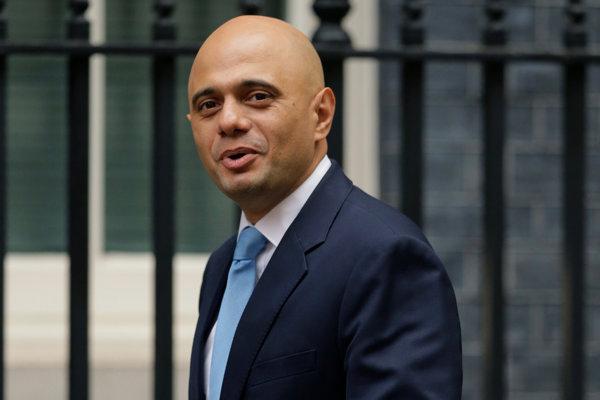 Britský minister vnútra Sajid Javid.
