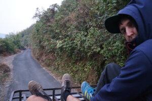 Stopom cez indickú džungľu.