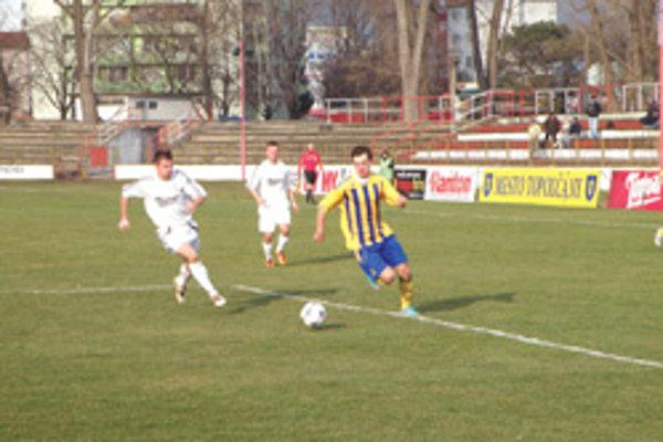 Topoľčany prehrali doma o dva góly.