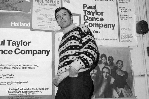 Paul Taylor v New Yorku.