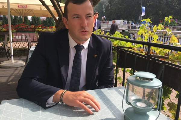 Litovský minister hospodárstva Virginijus Sinkevičius.