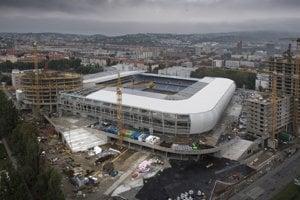 Národný futbalový štadión v Bratislave.