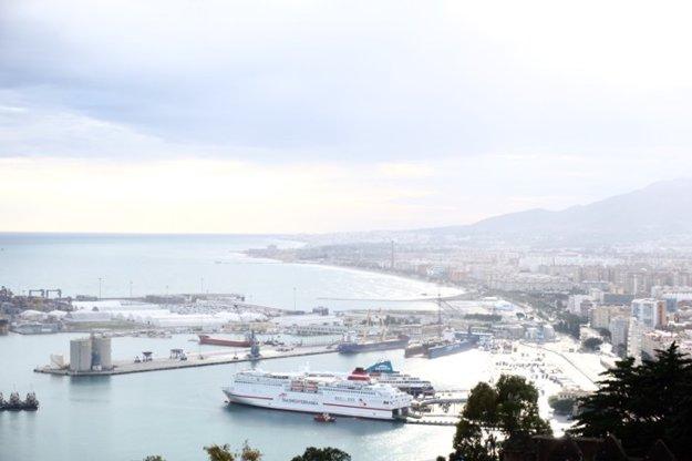 Prístav v Malage
