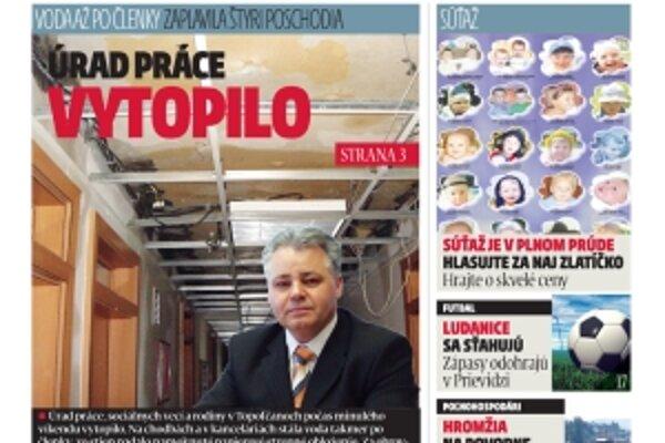 Najnovšie číslo Dneška nájdete v stánkoch už dnes.