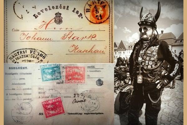 Pohľadnica z Bardejova. MY Bardejovské noviny píšu o histórii pošty aj poľských motorkároch na námestí. (FOTO: REDAKCIA)