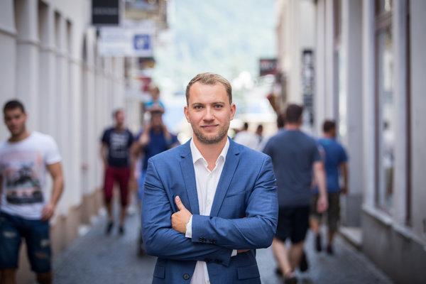 Martin Kapitulík, nezávislý kandidát na primátora Žiliny.