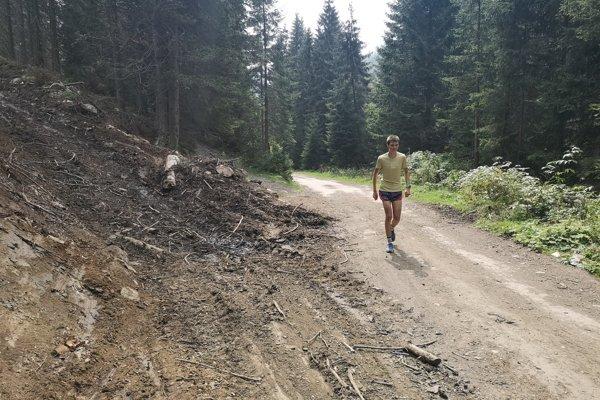 Lepší stav cesty Žiarskou dolinou by pri privítali turisti aj športovci.