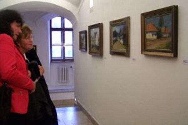 Výstava Vladimíra Plachého v Turčianskej galérii.