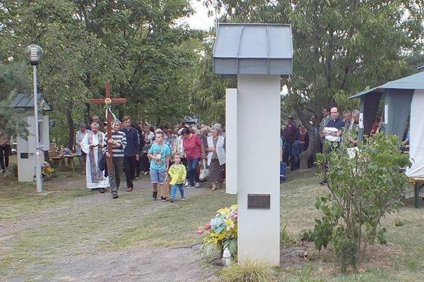 Levická Kalvária oslavuje 10. výročie obnovenia. Konať sa bude 8. ročník hodov.