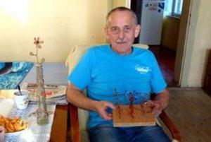 Dušan Hoťka sa drôtikovaniu venuje už deväť rokov.
