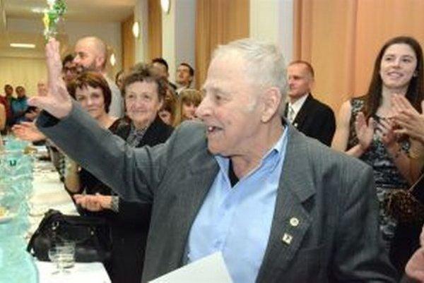 Vladimír Deváty zožal na vlaňajšej oslave 90. výročia založenia martinskej atletiky najväčší aplauz.