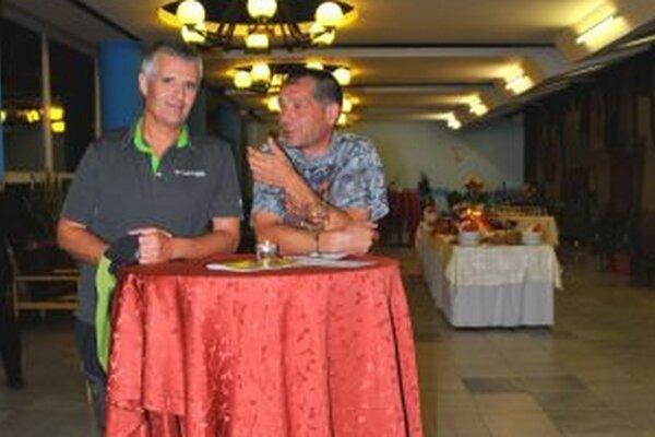 Pavol Barabáš počas minuloročnej návštevy v martinskom Strojári.
