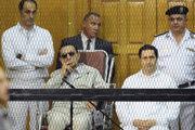 Gamal Mubarak, Alaa Mubarak.