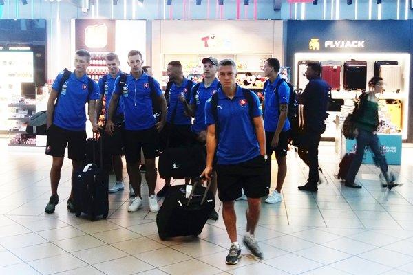 Hráči Výberu ZsFZ dnes leteli z Viedne do Rumunska.