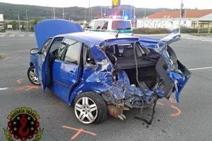 K nehode došlo na križovatke ulíc SNP a M. Chrásteka v Žiari.