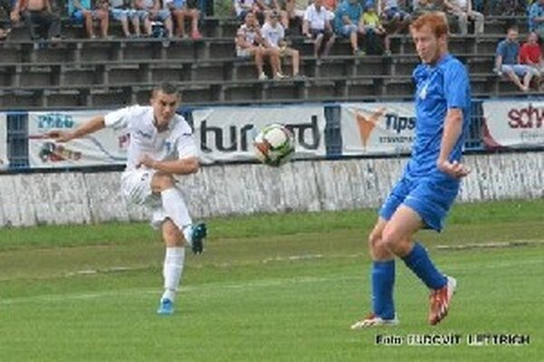 Marek Facuna strelil Lučencu druhý gól.