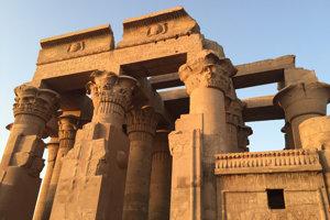 Na snímke chrám Kom Ombo  neďaleko egyptského Asuánu.
