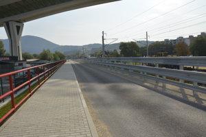 Cesta, ktorá zostane po rekonštrukcii.