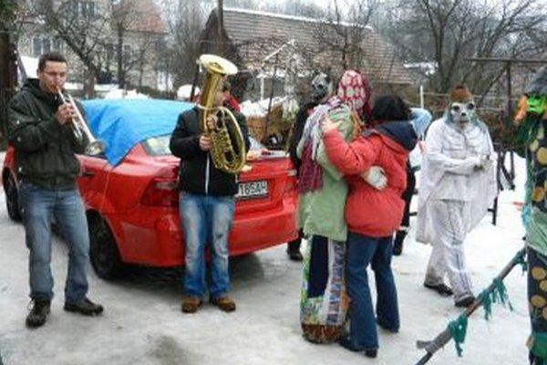 Fašiangy majú svoje čaro aj v obci Jasenovo.