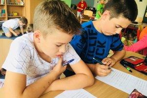 Klub nadaných detí v Prešove.