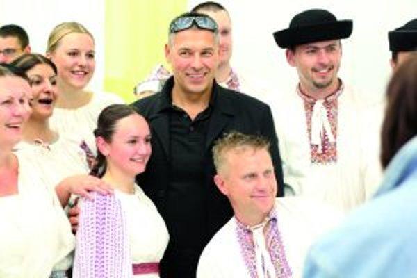 Herec a tanečník Marek Ťapák.