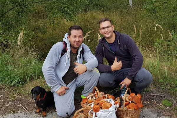 Ján Murín (vľavo) s bratom Milanom už dávno nezažili takú vydarenú hubačku.