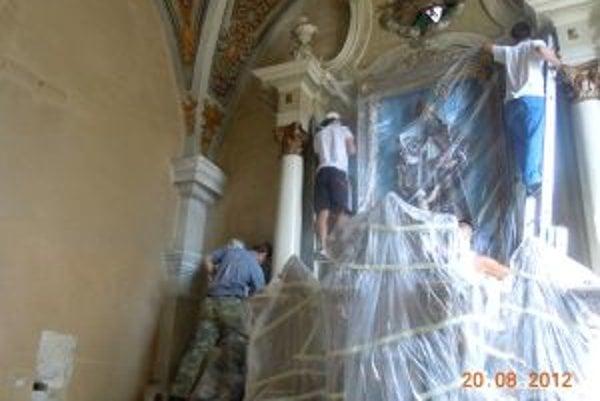 Kostol sa v súčasnosti renovuje.