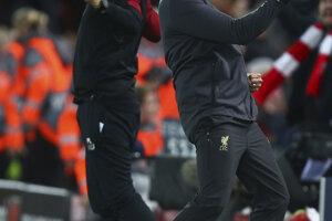 Lavička Liverpoolu sa teší.