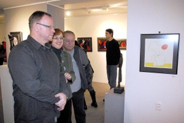 Výstava je zaujímavá. Z dielne viacerých autorov je na čo pozerať.