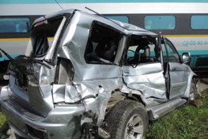 Pri nehode nedošlo našťastie k žiadnym zraneniam.