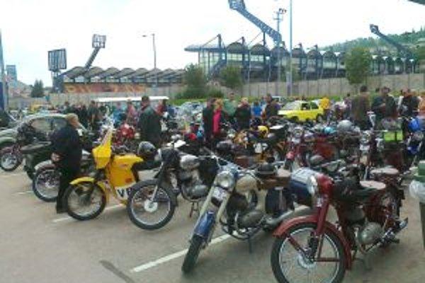 V Ružomberku sa k motoristom pripojili aj jazdci z Oravy a Liptova.