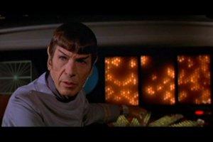 Vedecký dôstojník Spock (Leonard Nimoy) vo filme Star Trek z roku 1979.
