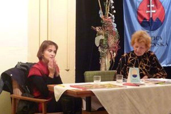 Havelková predstavila aj svoju novú knihu.