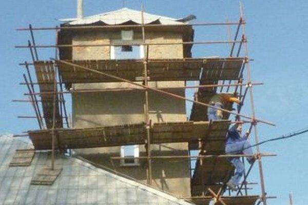 V Turč. Kľačanoch rekonštruujú požiarnu zbrojnicu.
