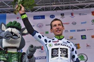 Martin Haring je víťaz bodovacej súťaže na nedávnych pretekoch Okolo Slovenska.