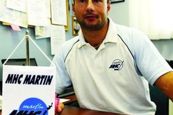 Aurel Nauš, generálny manažér MHC Mountfield Martin.